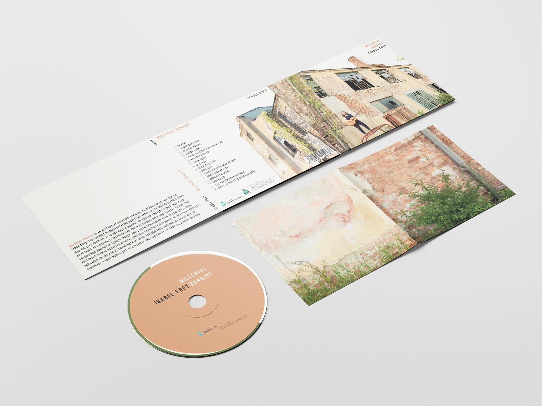 Grafikdesign CD-Cover und Booklet Isabel Frey