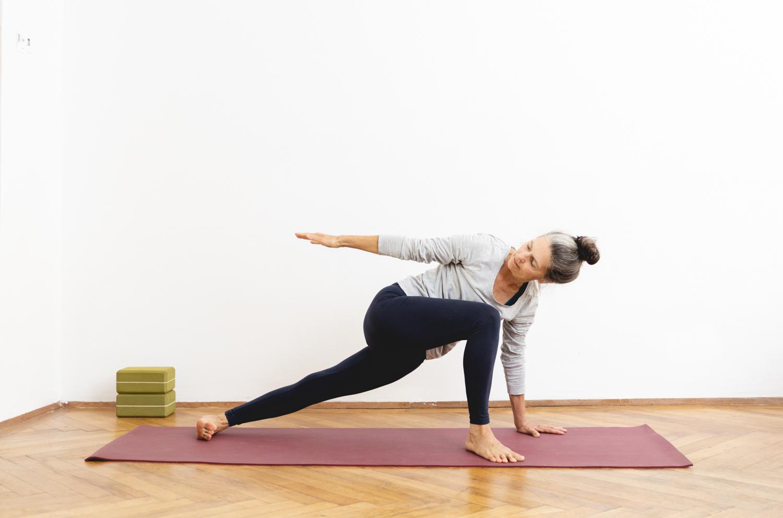 Fotografie Yogalehrerin