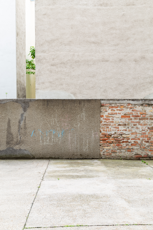 Reportagefotografie, Baum in Innenhof