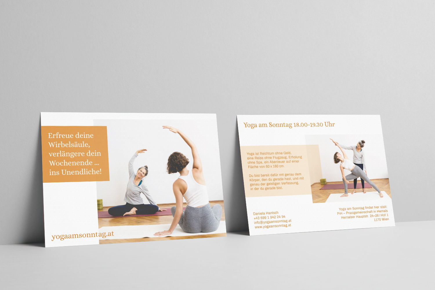 Printdesign Flyer Yoga