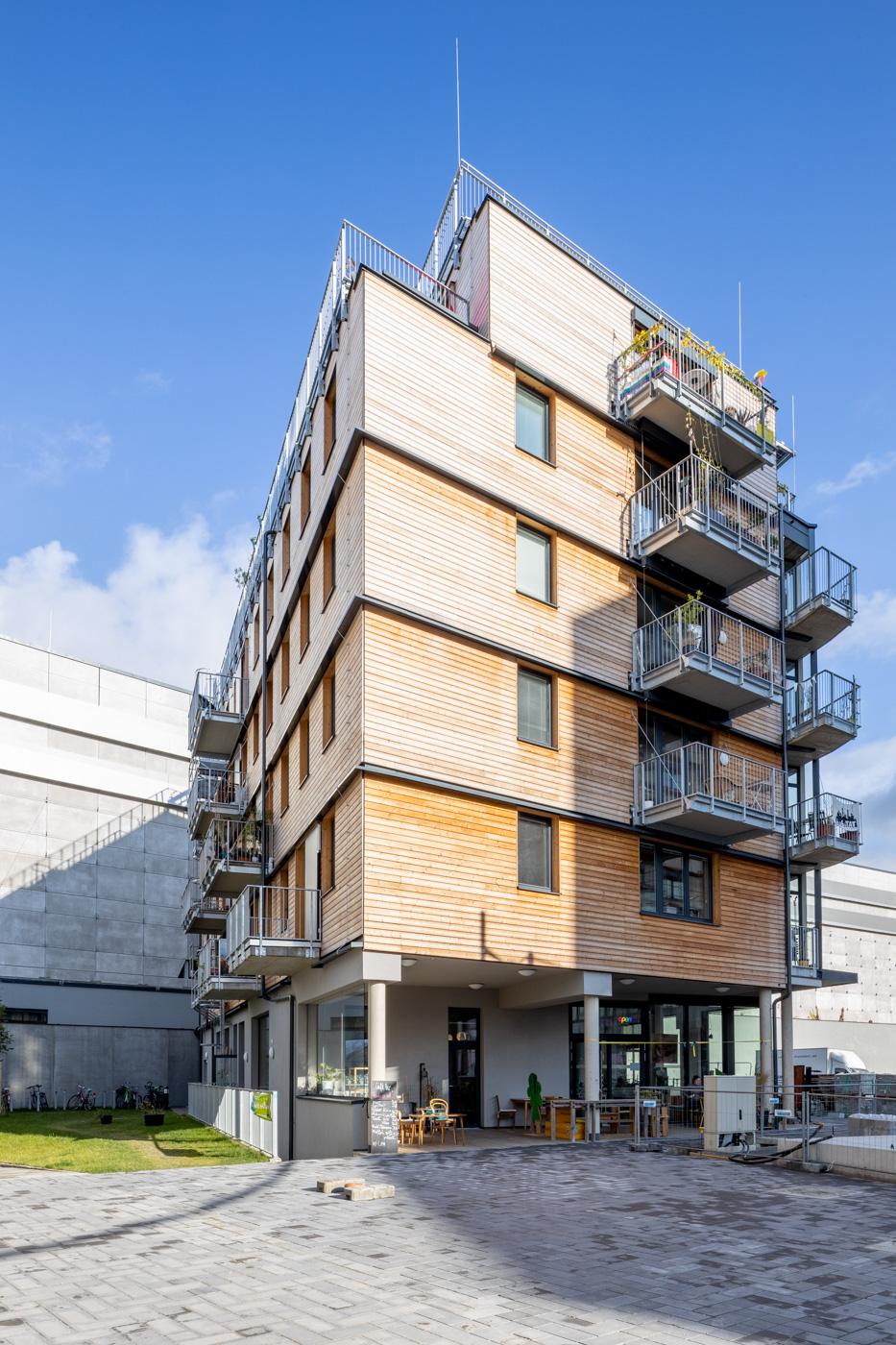 Architekturfotografie Hausprojekt Bikes and Rails