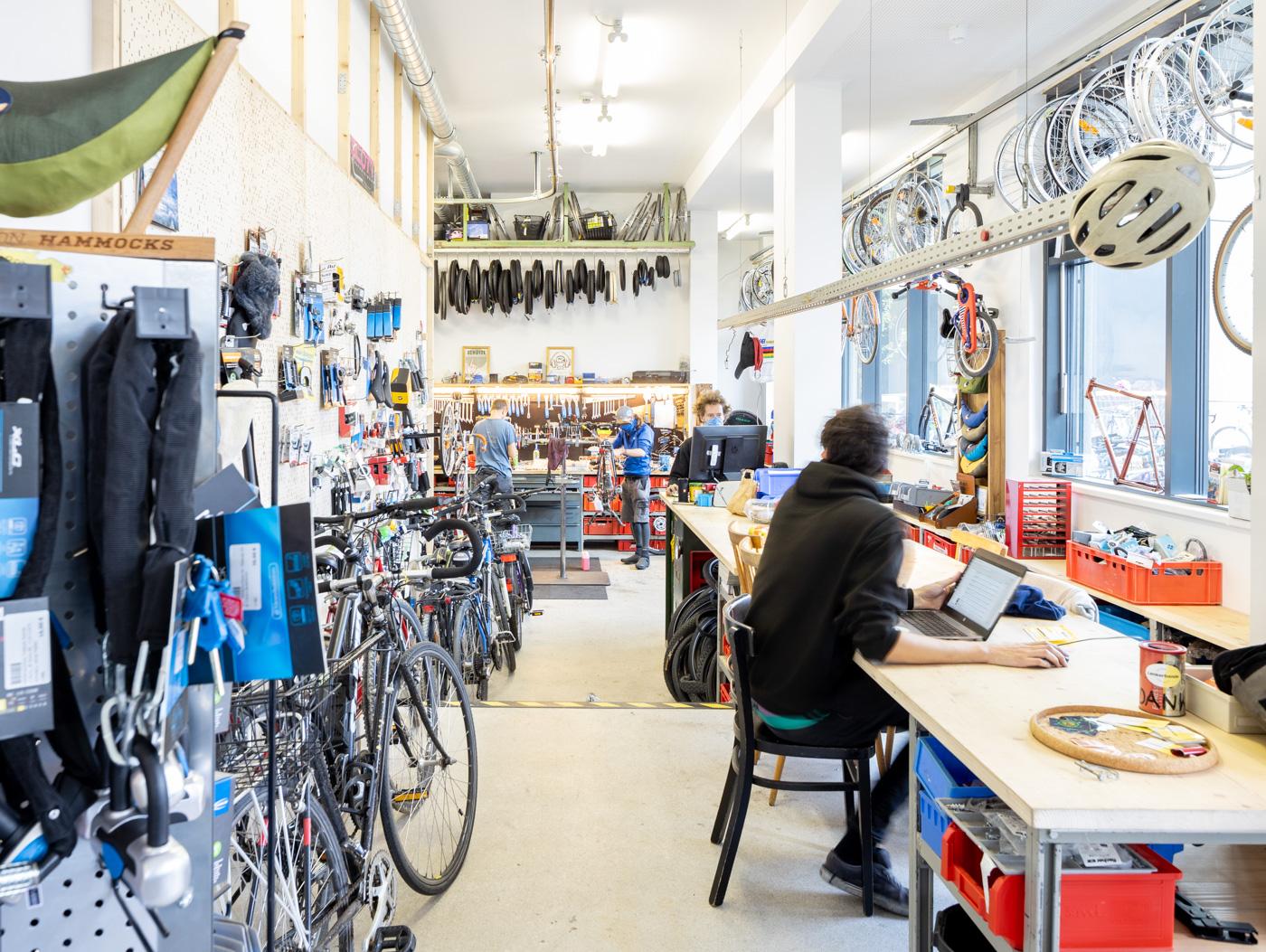Radwerkstatt Lenkerbande