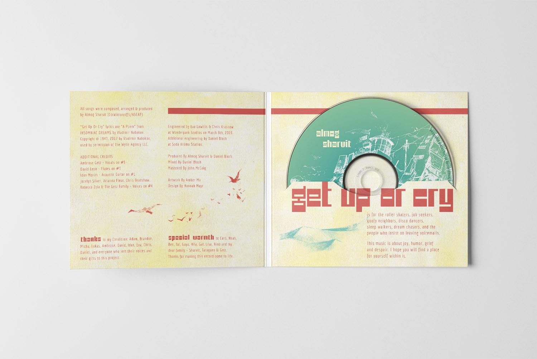 CD-Design für Almog Sharvit